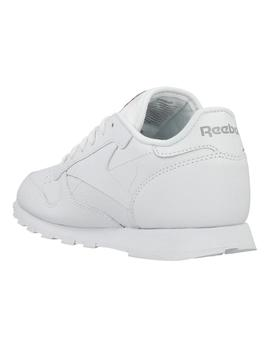 ZAPATILLA BLANCA REEBOK CLASSIC LEATHER