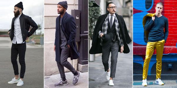 c090083662 Gu a de estilo para hombres sabr s c mo usar zapatillas deportivas